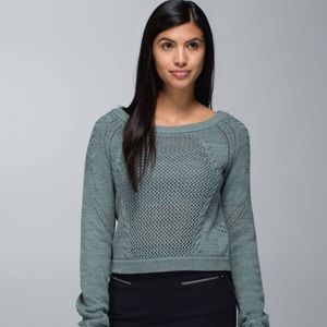 Lululemon Be Present Knit Pullover Sweater